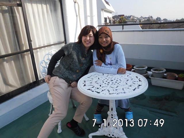 Perjalan dari Jepang ke Padang