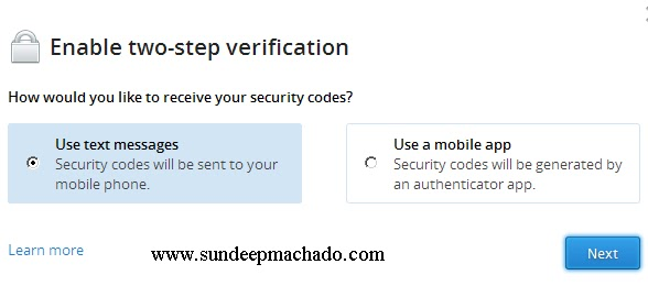 two-step-verification-dropbox-using-sms