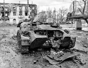 Как 54 бригада Хунты на Дебальцево наступала