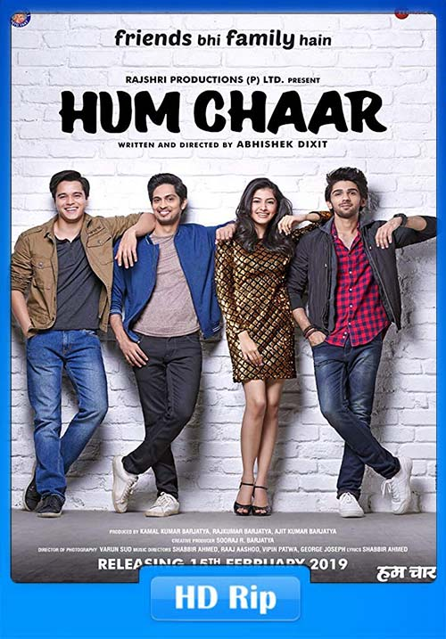 Hum chaar 2019 Hindi 720p HDRip x264 | 480p 300MB | 100MB HEVC