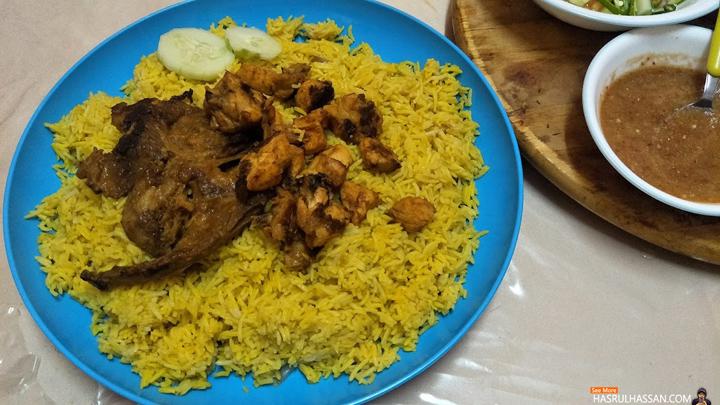 Pertama Kali Buka Puasa Makan Nasi Arab Dalam Talam