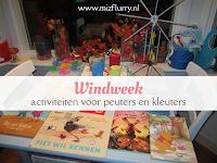 Windweek - activiteiten voor peuters en kleuters