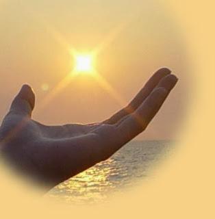 A gyógyító energia átadása