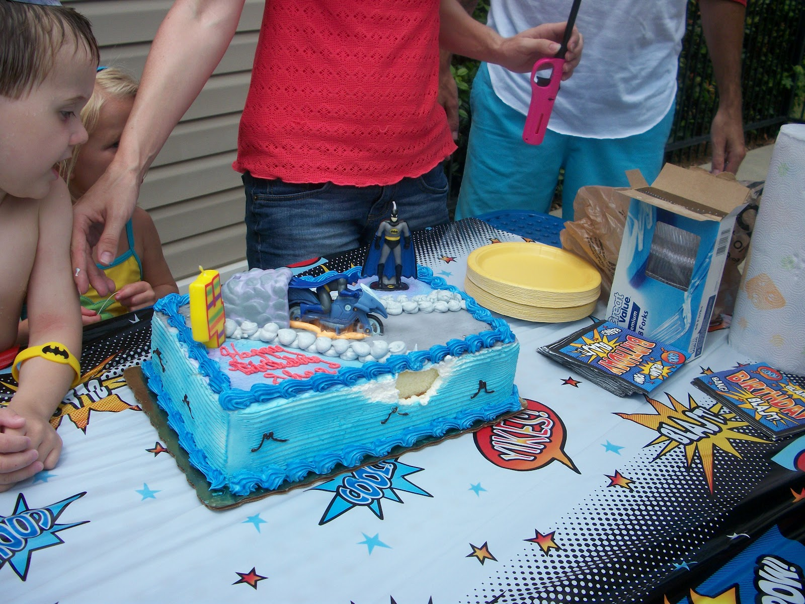 Occupation Mom Holy Birthday Party Batman
