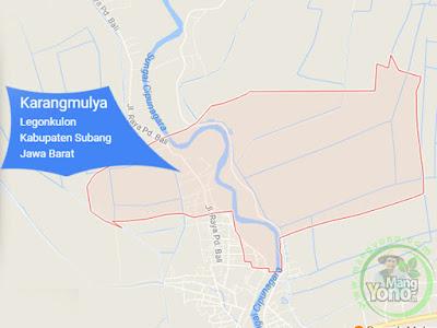 PETA : Desa Karangmulya, Kecamatan Legonkulon