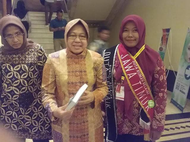 Duta Rumah Belajar 2018 Bersama Wali Kota Surabaya