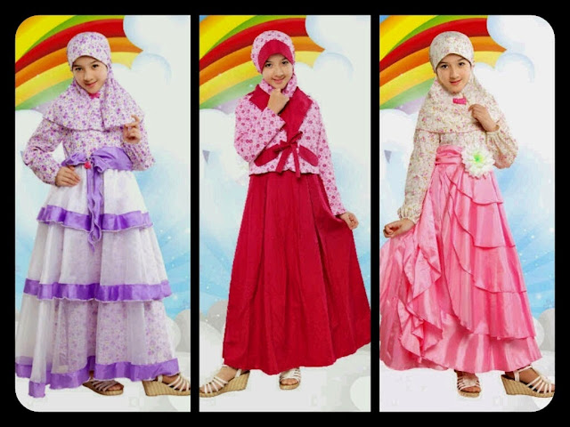 Model Baju Untuk Lebaran Anak Perempuan Dress