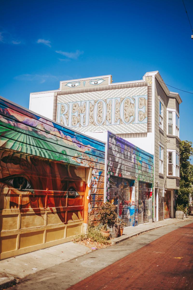 San Francisco Clarion Alley