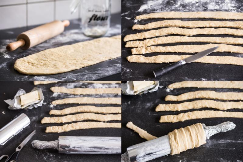 Baumkuchen Baumstriezel selber machen Rezept