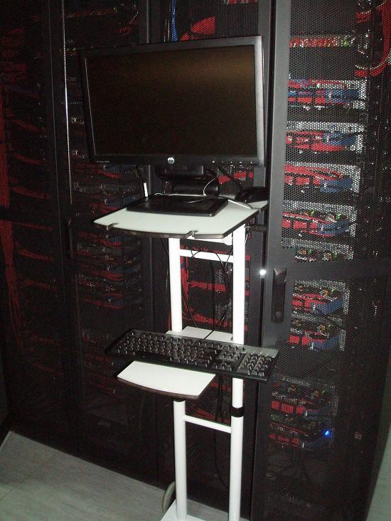 серверы HP с водяным охлаждением в дата центре Ростелеком в Адлере