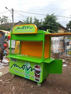 gerobak modern