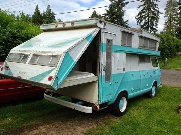 Tom Clark Chevy >> Used RVs 1968 Chevrolet Camper Van, Kamp King Koach For Sale by Owner