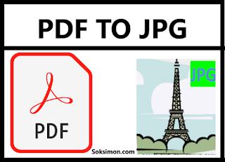 Cara mengubah PDF ke JPG Online dan Offline Gratis