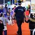 Feria del Libro: Ya son más de 740 los niños que la visitaron con Palermo Lee