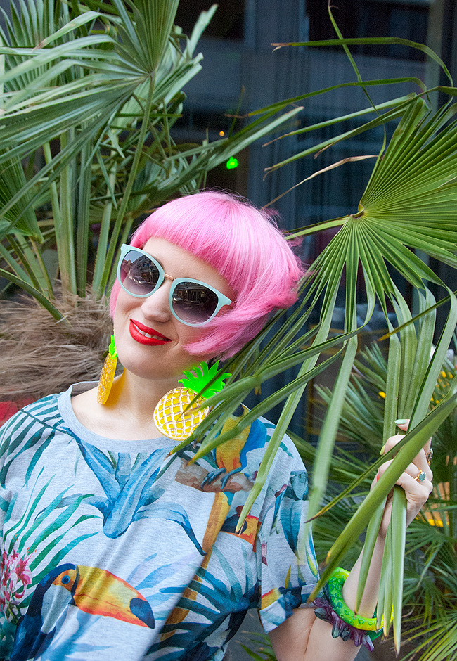 Neubau sunglasses, tropical look, la petite box