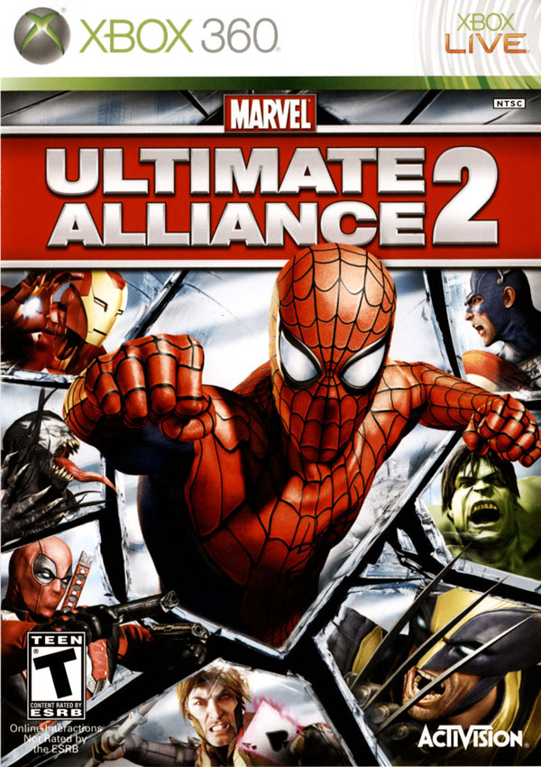 Marvel Ultimate Aliance 2 Download Cover Free Game