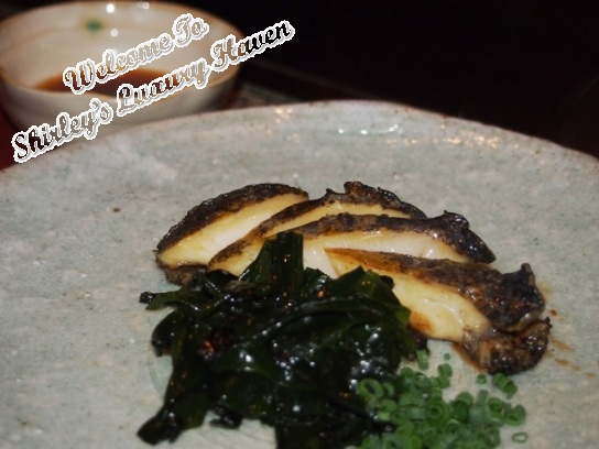 ginza hama steak house abalone