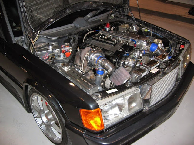 w201 turbo engine
