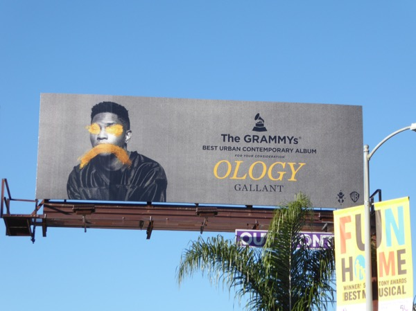 Gallant Ology Grammys consideration billboard