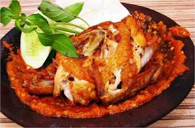 Resep Cara Membuat Ayam Gepuk Pedas