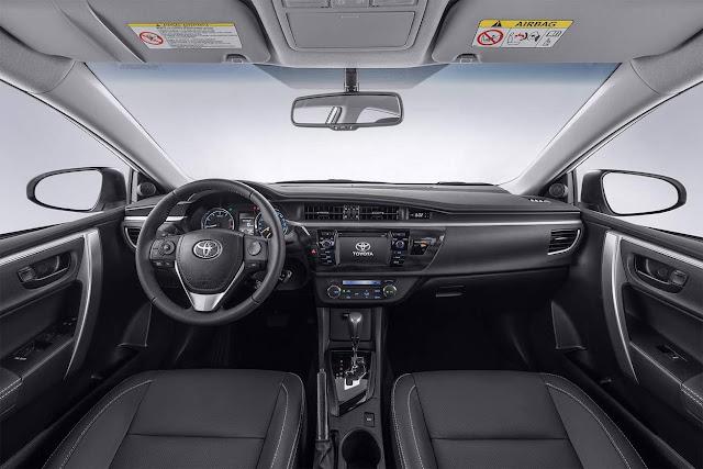 Novo Toyota Corlla Dynamic 2017 - interior