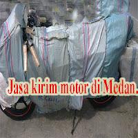 Jasa pengiriman motor di Medan.