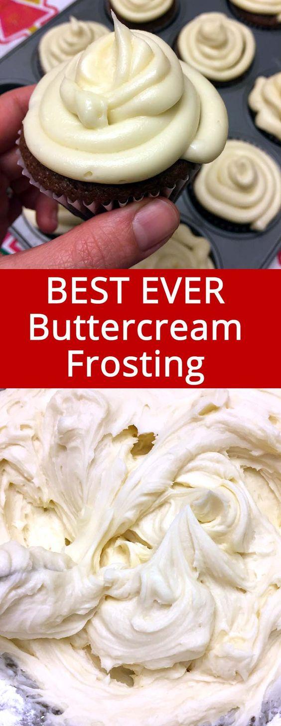 Easy Homemade Vanilla Buttercream Frosting