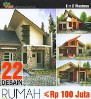 Baca Buku Rancangan Rumah Desain kurang dari 100 juta