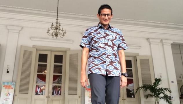 Kampanyekan Diri,  Sandiaga Bernazar Akan Berenang Sejauh 800 Meter di Kepulauan Seribu
