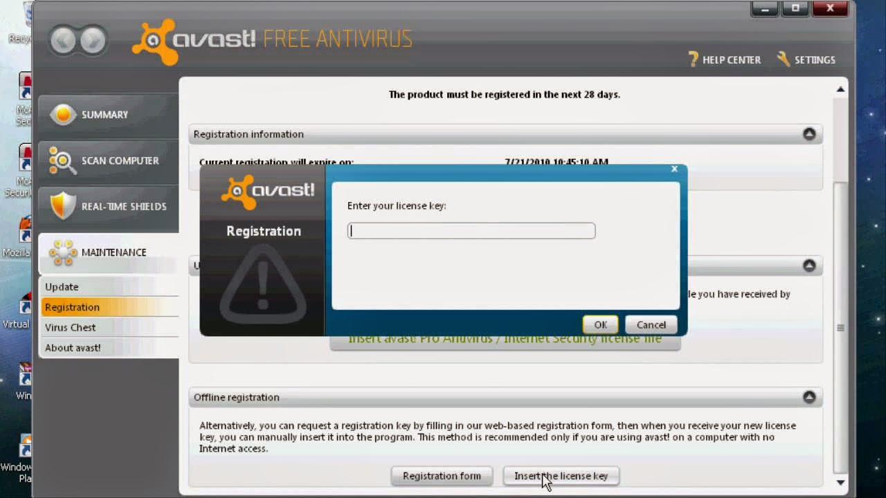 Avast Internet Security 2014 v. 9.0.2021 Final + License ...