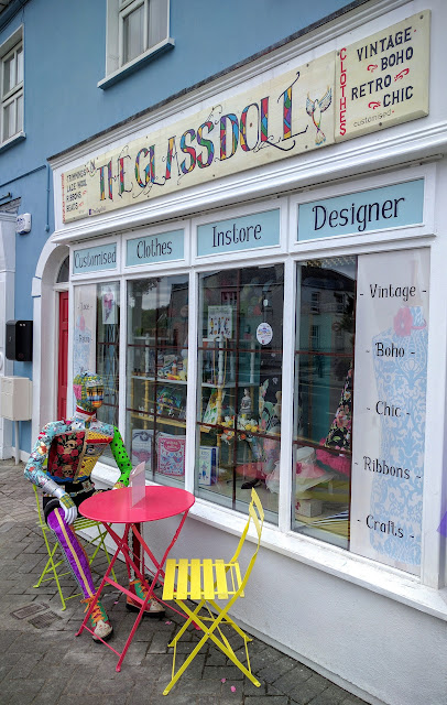 The Glassdoll Storefront in Maynooth, Ireland