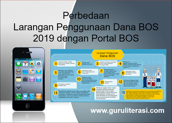 Perbedaan Larangan Penggunaan Dana BOS 2019 dengan Portal BOS