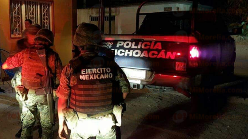 Gatilleros abaten a seis personas en enfrentamientos en Michoacan
