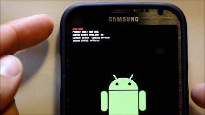 تطبيق Mobile Odin، شرح استعمال تطبيق Mobile Odin، تثبيت روم رسمي بدون كمبيوتر, تركيب روم رسمي عن طريق الريكفري