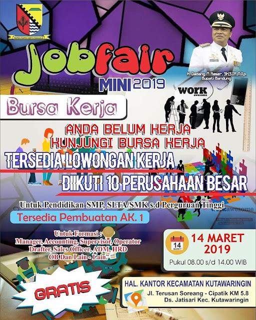 Job Fair Kabupaten Bandung 2019