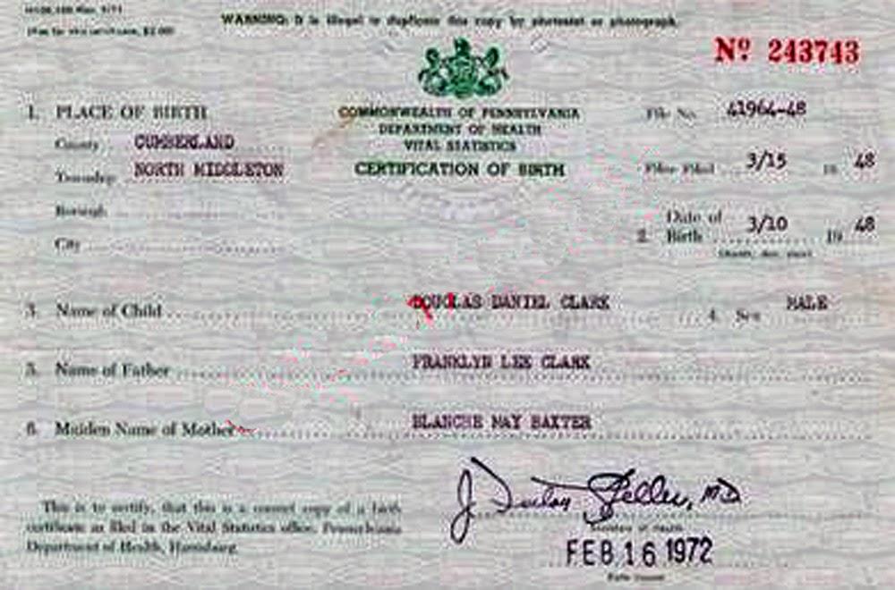Único Virginia Occidental Solicitud De Certificado De Nacimiento ...