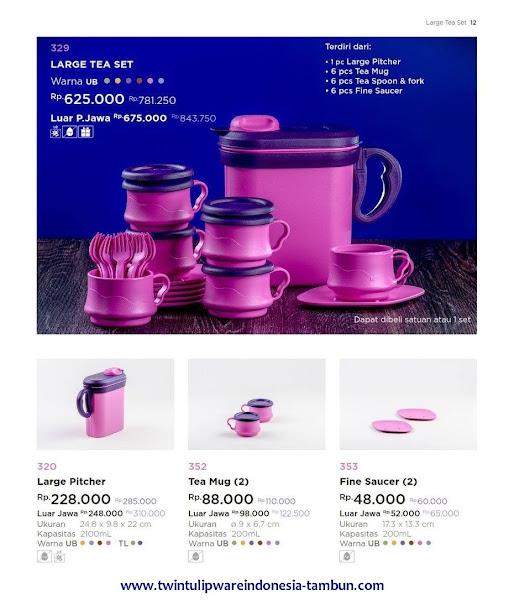 Large Tea Set, Pitcher, Tea Mug, Fine Saucer