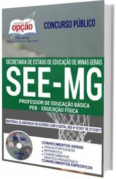 Apostila Concurso SEE-MG 2018 Professor de Educação Básica