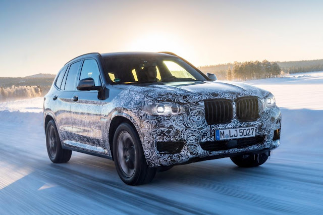 2018 New BMW X3 SUV Review