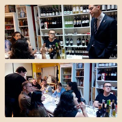 Cata de vinos diferentes