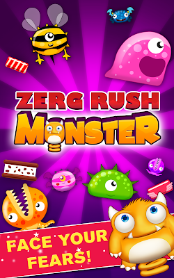 The android mobile game - Zerg Rush Monster