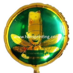 """Printing Balon Foil / Sablon Balon Foil """"Maison Féerie"""""""