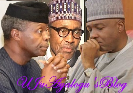 BUHARI: Saraki, FEC Under Pressure To Use Doctrine of Necessity After 107 Days on Medical Vacation