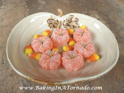 Candy Pumpkins | www.BakingInATornado.com |  #Halloween #recipe