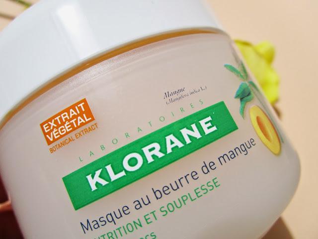 Mascarilla Reparadora Nutrición Intensa a la Manteca de Mango de KLORANE.