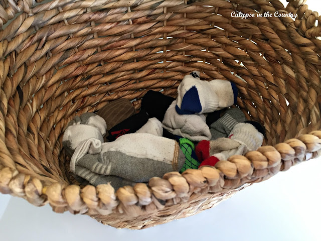 Basket of socks
