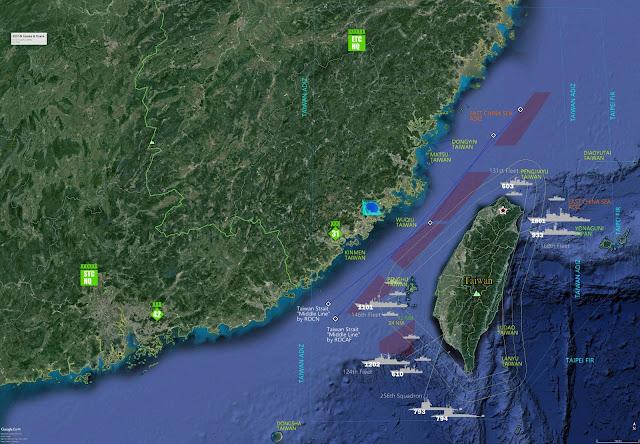 Taiwan navy, Taiwan strait,