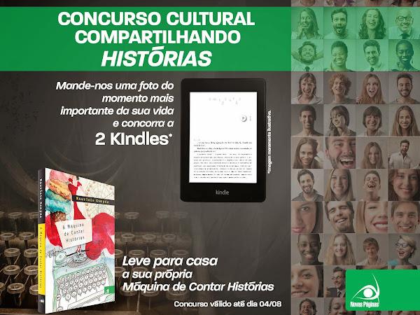 Concurso Cultural Compartilhando Histórias da Editora Novo Conceito
