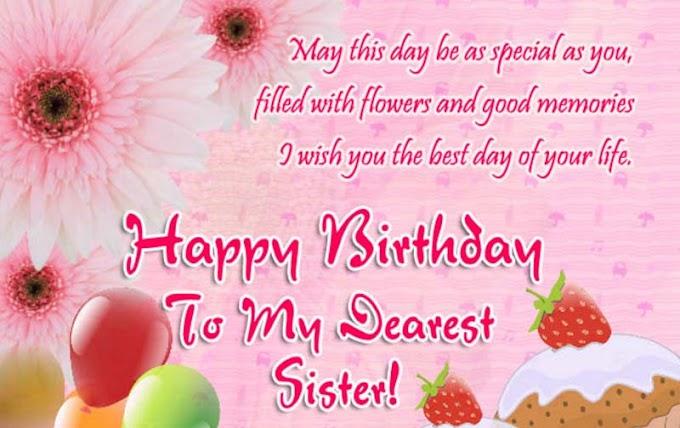 Happy Birthday Sister, Janamdin Shayari in Hindi