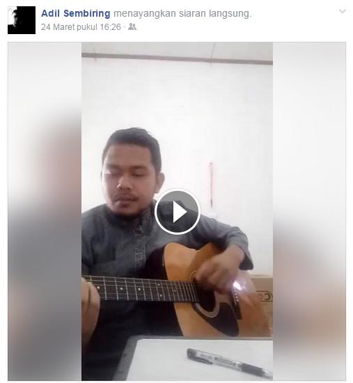 Adi Sembiring live at Kantor Riau JOS